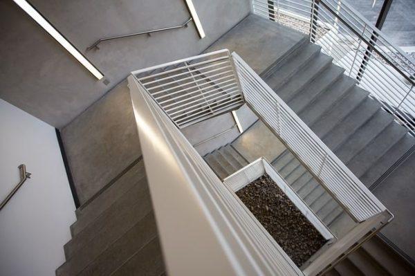 Sauberes Treppenhaus