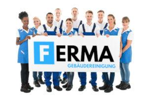 Gebäudereinigung FERMA Teamfoto